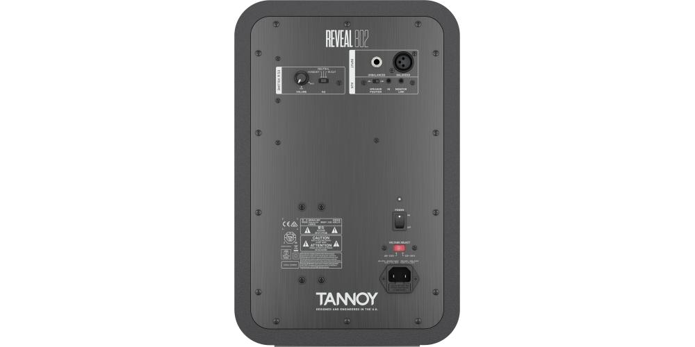 TANNOY REVEAL 802 MONITOR ACTIVO CONEXIONES