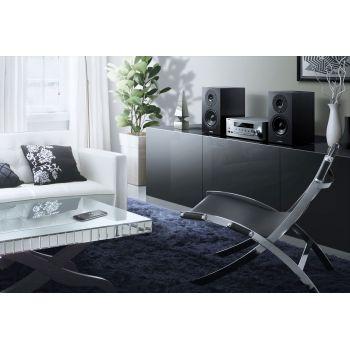Yamaha MCR-N470 Silver Micro cadena musiccast