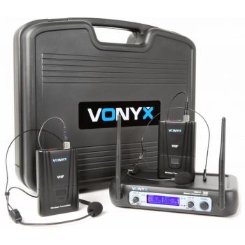 VONYX WM512H Microfono Inalambrico Doble Diadema 179220