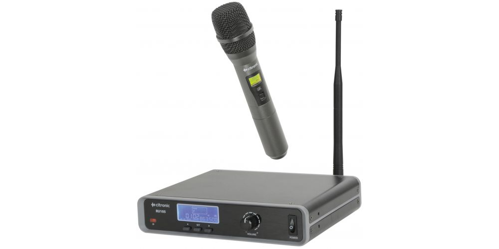comprar microfono uhf citronic ru105h oferta