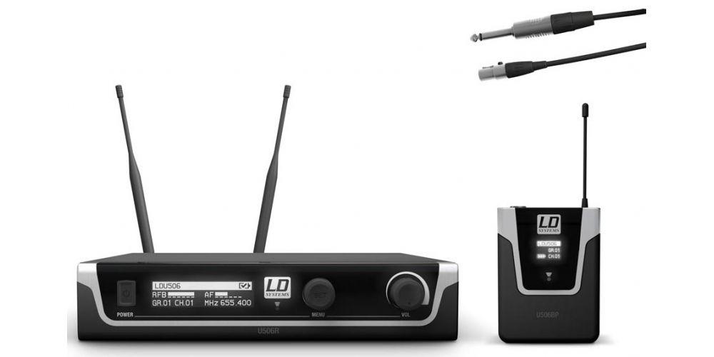 microfono inalambrico instrumento U506BPG