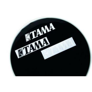Tama TLS100-BK Adhesivo piel frontal bombo negro