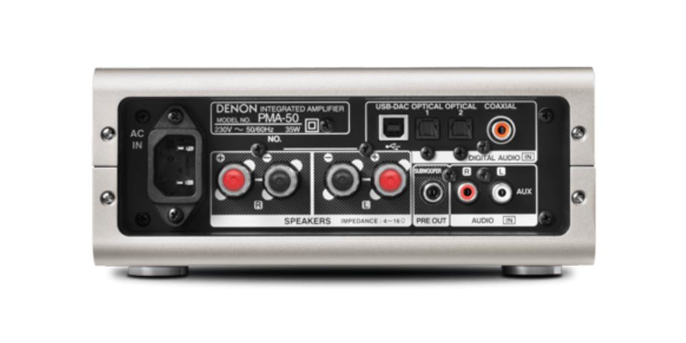 Denon PMA50 hifi amplificador