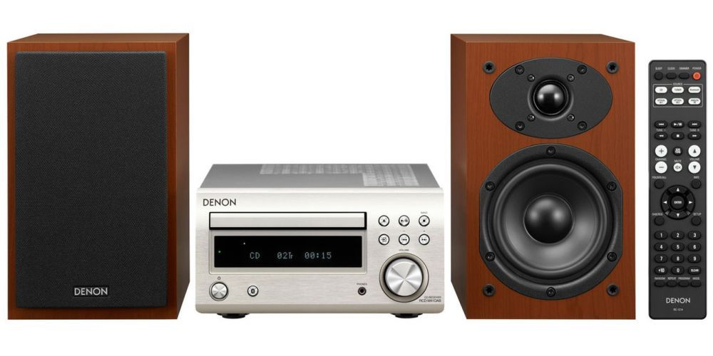 denon dm41 silver cherry