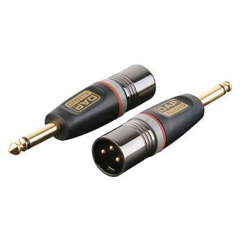DAP Audio XGA27 Adaptador XLR Macho / Jack Macho