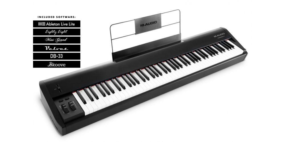 Hammer88 m audio teclado midi