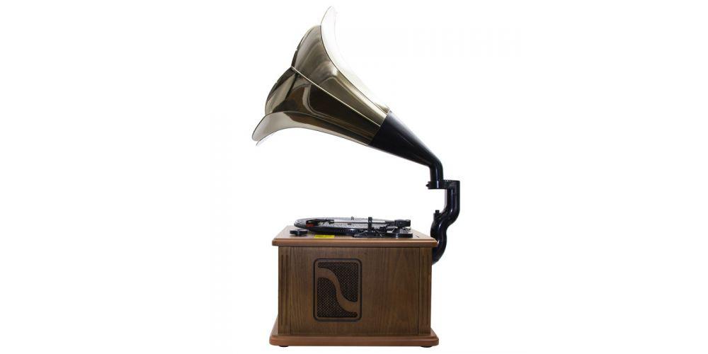 lauson cl147 tocadiscos con bluetooth encoding cdmp3 radio