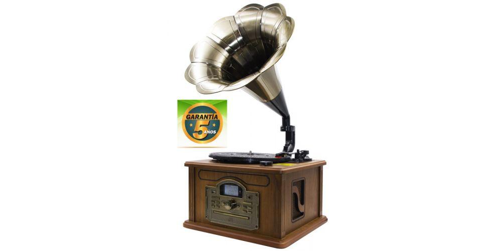 lauson cl147 tocadiscos con bluetooth encoding cdmp3 radio 5 anos garantia