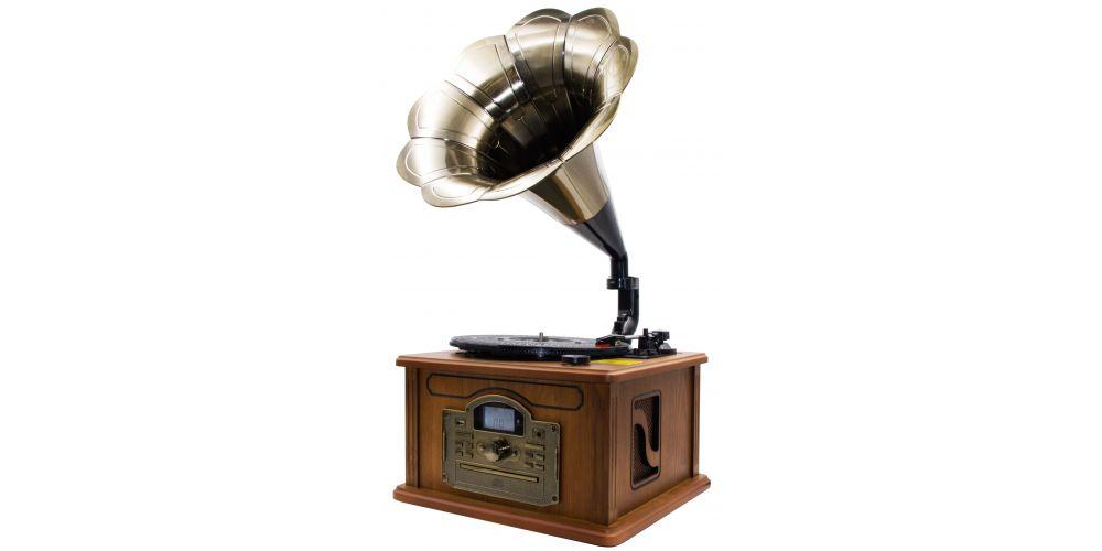 lauson cl147 tocadiscos con bluetooth encoding cdmp3 radio gramofono