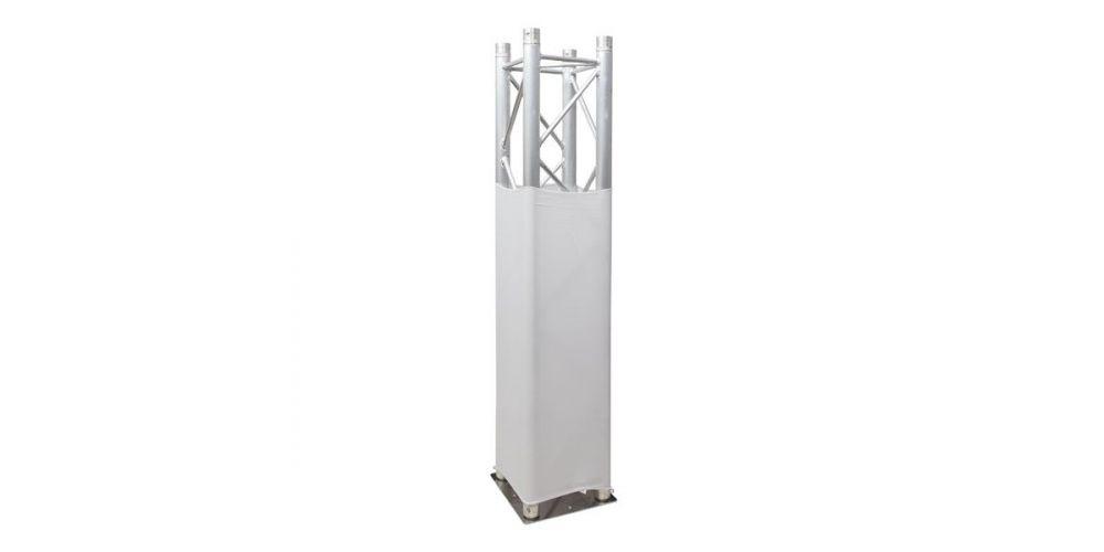 showtec truss sretch cover white 89223 oferta