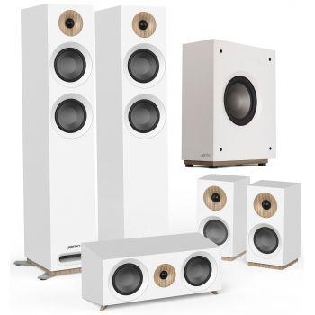 Jamo S807 HCS White+S810 SUB White Conjunto altavoces Home Cinema