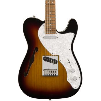 Fender Deluxe Telecaster Thinline PF 3 Color Sunburst