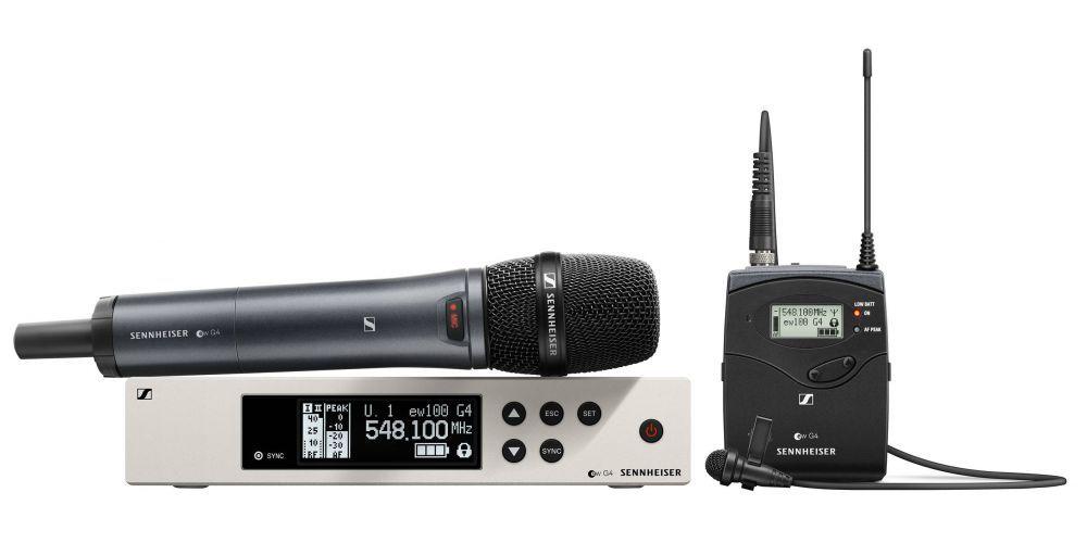 sennheiser ew 100 g4 me2 835 s a micrófono