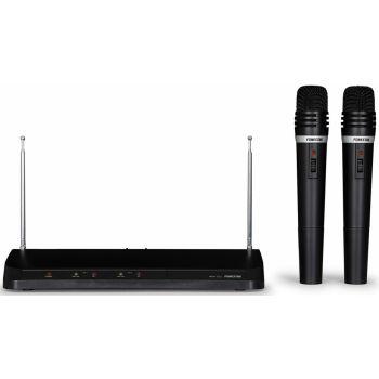 Fonestar MSH-211 Doble micrófono inalámbrico de mano VHF