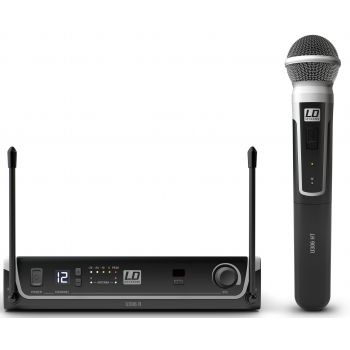 LD Systems U306 HHD Sistema inalámbrico con Micrófono de Mano dinámico