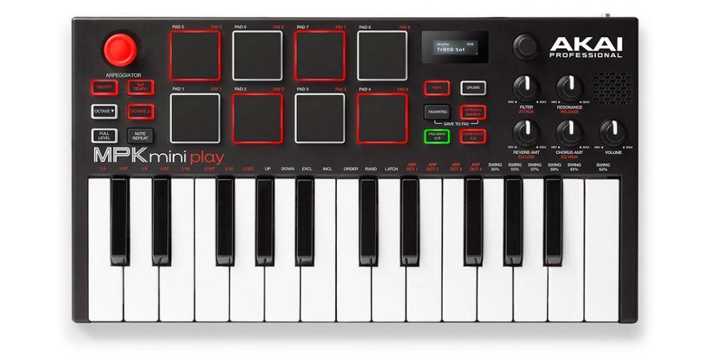 akai mpk mini play teclado