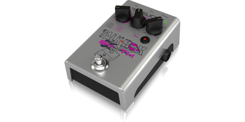 efectos pedal tc helicon talkbox synth