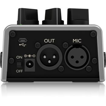 TC helicon Talkbox Synth Pedal de Efectos -