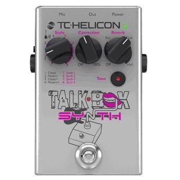 TC helicon Talkbox Synth Pedal de Efectos