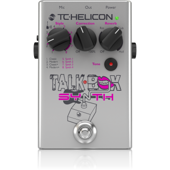 TC helicon Talkbox Synth Pedal de Efectos -