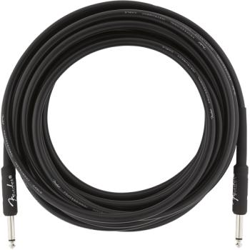 Fender Cable Profesional 5,5 Metros Jack Mono a Jack Mono Black