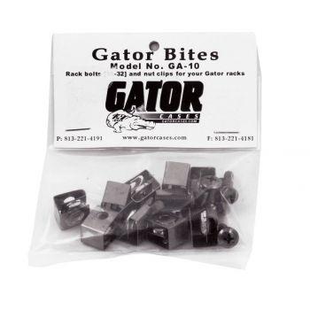 Gator HGFGA10 BOLSA DE 10 TORNILLOS + ANCLAJE DE RACK .