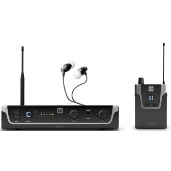 LD Systems U305 IEM HP Sistema de Monitoraje inalámbrico In-Ear