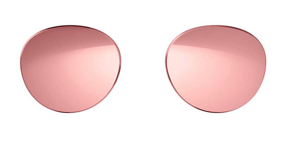 bose lenses rondo style rosado cristales espejo degradado oro rosado para frames rondo