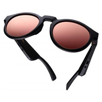 Bose Lenses Rondo Style Rose Cristales Espejo Oro Rosado Polarizado