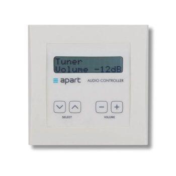 Apart Biamp  DIWAC Panel de control de montaje en pared para AudioControl12.8