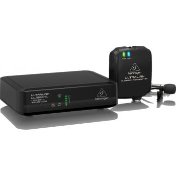 Behringer ULM300LAV Sistema Inalámbrico Digital 2.4Ghz Lavalier