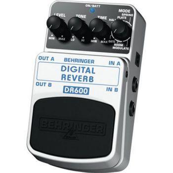 BEHRINGER Pedal  Guitarra Efecto Dig/Reverb DR600 Behringer DR-600