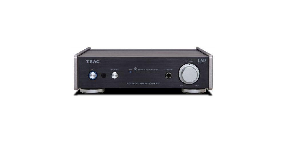 TEAC AI-301DA B Amplificador Usb Bluetooth 40 W Negro, AI301DA B