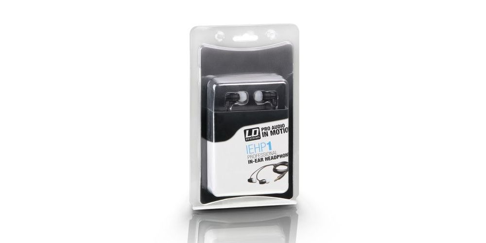 LD SYSTEMS IEHP 1 Auricular profesional intraauditivo de color negro