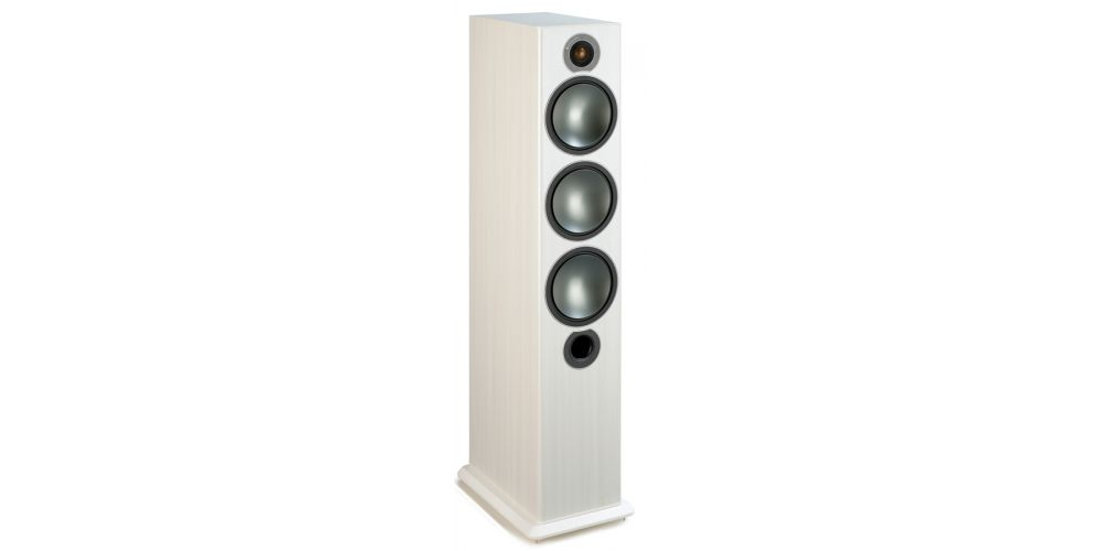 MONITOR AUDIO BRONZE 6 White Ash Pareja