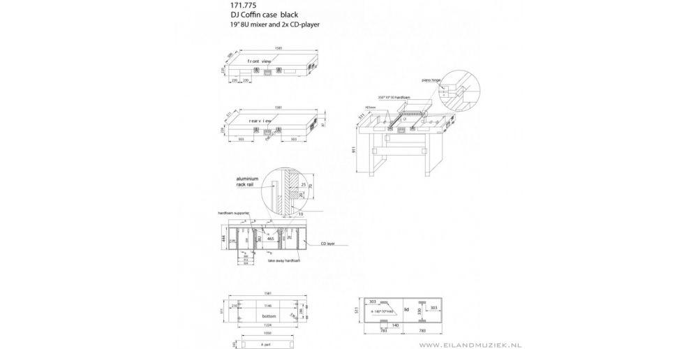 Power Dynamics PD-FC3 Flightcase 19