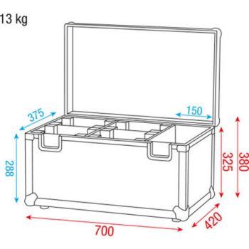dap audio case for 4x kanjo wash spot d7034 picture
