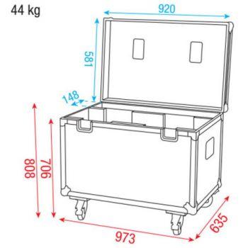 Dap Audio Case for 2x iS-200/iB-5R D7030