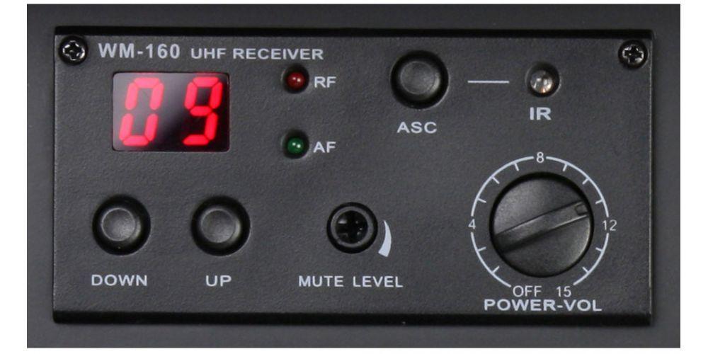 LD SYSTEMS Roadman 102 R B5 Módulo receptor UHF
