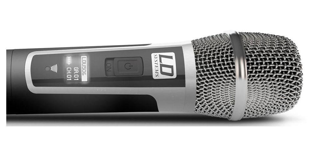 oferta microfono inalambrico doble de mano U506HHC2