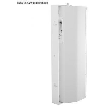 LD Systems SAT 262 G2 WMBW Soporte de Pared Giratorio para SAT 262 G2 blanco