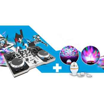 Hercules dj control instinct party pack