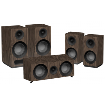 Jamo S803 HCS Walnut Altavoces Home Cinema 5.0