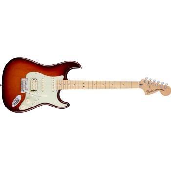 Fender Deluxe Stratocaster HSS Maple Fingerboard Tobacco Sunburst
