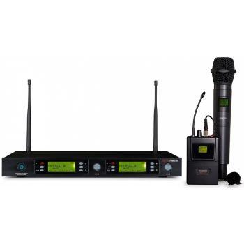 Fonestar MSH-898-823 Micrófono inalámbrico doble UHF