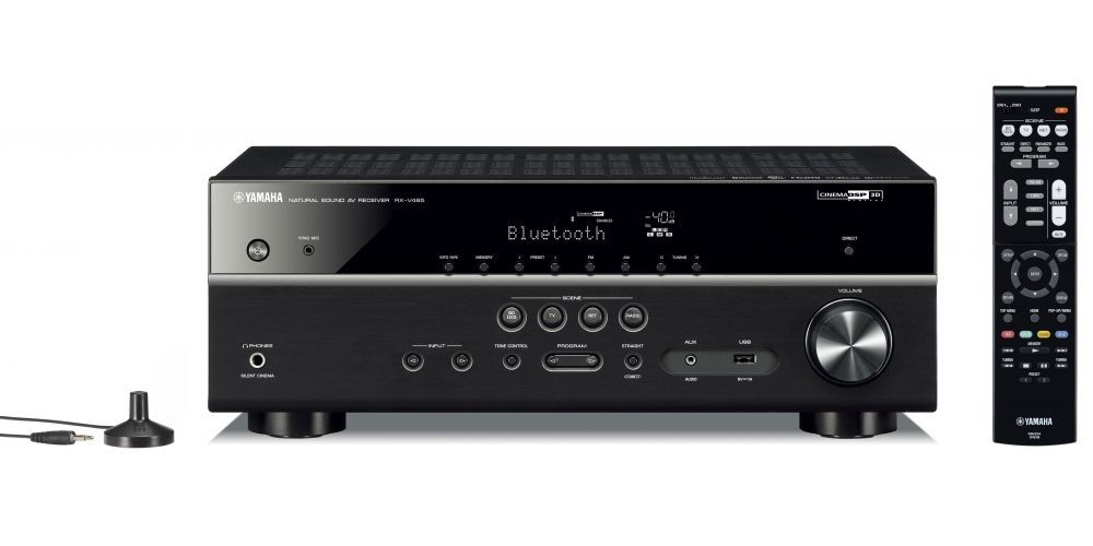 yamaha RXV485 receptor AV 5 1 mando distancia