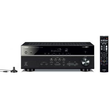 Yamaha RXV485+MINX12 White Cinema Pack + X201 SUB Conjunto Home Cinema