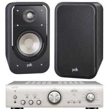 Denon PMA-800AE Silver+Polk Audio S20E Sistema 800/ S20E SCD Conjunto Audio