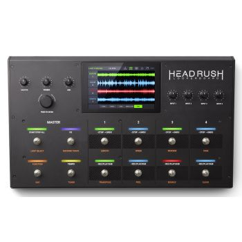 HeadRush LOOPERBOARD Pedal Looper Programable