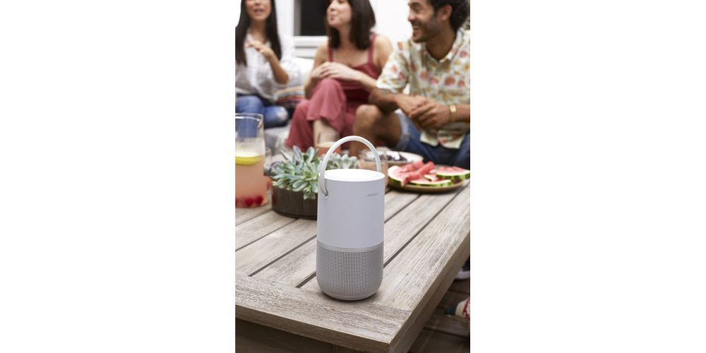 Bose Portable Home Speaker silver wifi bluetooth